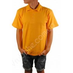 Футболка поло мужская Yellow