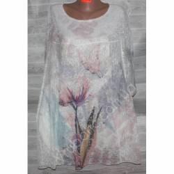 Блуза-туника женская(XL-4XL) 2182-32785