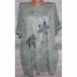 Блуза-туника женская(XL-4XL) 2567-4-32786