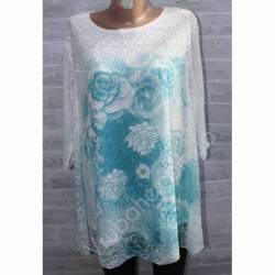 Блуза-туника женская(XL-4XL) 2186-32795