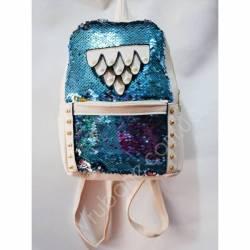 Рюкзак школьный на девочку Экокожа -40897