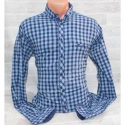Рубашка мужская батал (3XL-6XL) оптом-44956