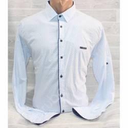 Рубашка мужская норма (M-3XL) оптом-44961
