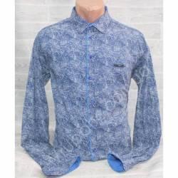 Рубашка мужская норма (M-3XL) оптом-44962