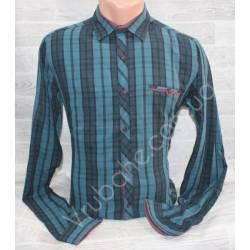 Рубашка мужская норма (M-3XL) оптом-44963