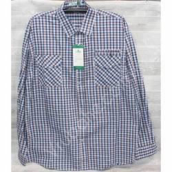 Рубашка мужская (XL-5XL) оптом-44978