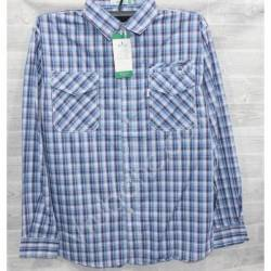 Рубашка мужская (XL-5XL) оптом-44979
