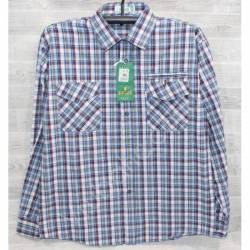 Рубашка мужская (XL-5XL) оптом-44981