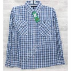 Рубашка мужская (XL-5XL) оптом-44982