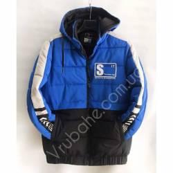 Куртка мужская полубатал оптом (L-4XL) -47126