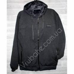 Кофта мужская на меху норма (M-3XL) оптом -47340
