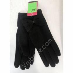 Перчатки женские трикотаж оптом-47619