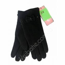 Перчатки женские трикотаж оптом-47641