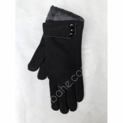 Перчатки женские трикотаж на меху оптом-47769