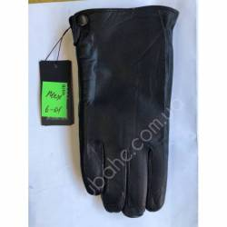Перчатки мужские кожа в нутри мех оптом-47791