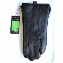 Перчатки мужские кожа в нутри мех оптом-47792