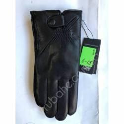 Перчатки мужские кожа в нутри мех оптом-47793
