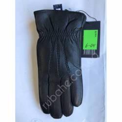 Перчатки мужские кожа в нутри мех оптом-47794