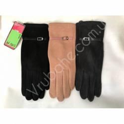Перчатки женские трикотаж оптом-47819