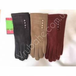 Перчатки женские трикотаж оптом-47820