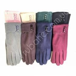 Перчатки женские трикотаж оптом-47821