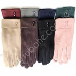 Перчатки женские трикотаж оптом-47822