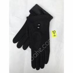 Перчатки женские трикотаж оптом-47830