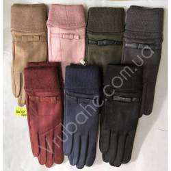 Перчатки женские замша оптом-47838