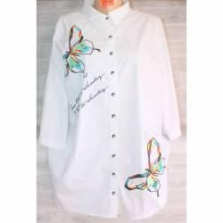 Блуза женская (52-56) оптом -49607