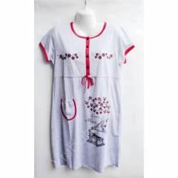 Ночная рубашка оптом (XL-4XL) D101 -50099
