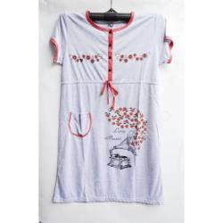 Ночная рубашка оптом (XL-4XL) D101 -50102