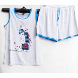 Пижама женская оптом (XL-4XL) B40 -50106