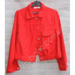 Куртка женская джинсовая (M-L) оптом -50836