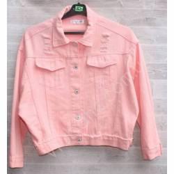Куртка женская джинсовая (M-L) оптом -50840
