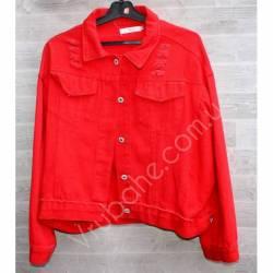Куртка женская джинсовая (M-L) оптом -50841
