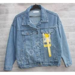 Куртка женская джинсовая (M-L) оптом -50846