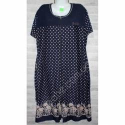 Халат-платье женский батал оптом (58-66)-52862