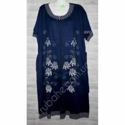 Халат-платье женский батал оптом (58-66)-52865