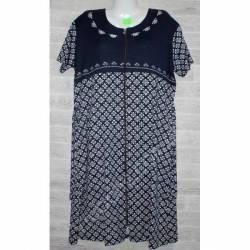Халат-платье женский батал оптом (58-66)-52867