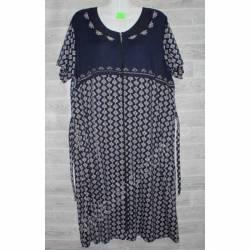 Халат-платье женский батал оптом (58-66)-52869