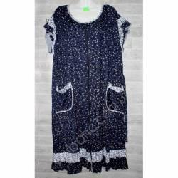 Халат-платье женский батал оптом (58-66)-52873