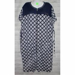 Халат-платье женский батал оптом (58-66)-52874
