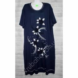 Халат-платье женский батал оптом (58-66)-52879
