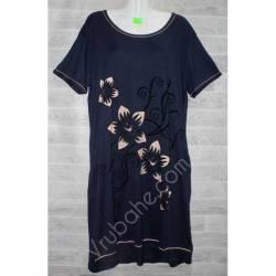 Халат-платье женский батал оптом (54-62)-52881
