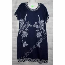 Халат-платье женский батал оптом (54-62)-52882