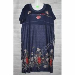 Халат-платье женский батал оптом (54-62)-52883