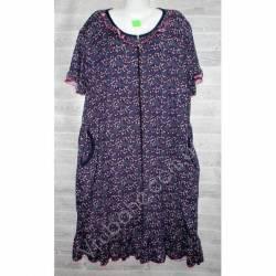 Халат-платье женский батал оптом (54-62)-52884