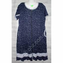 Халат-платье женский батал оптом (54-62)-52885