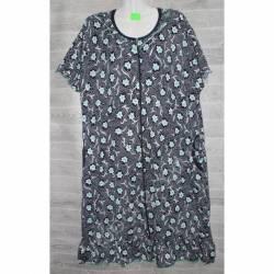Халат-платье женский батал оптом (54-62)-52886