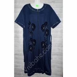 Халат-платье женский батал оптом (54-62)-52890